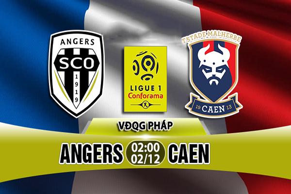 Nhận định Angers vs Caen
