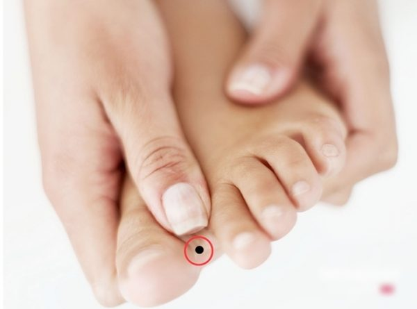 Đoán số mệnh, tính cách qua vị trí nốt ruồi ở bàn chân