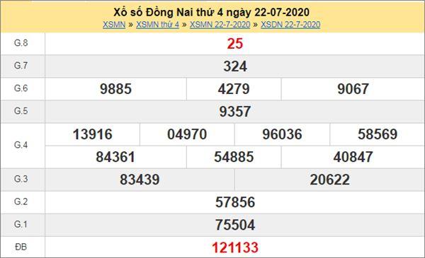 Dự đoán XSDNA 29/7/2020 chốt KQXS Đồng Nai thứ 4