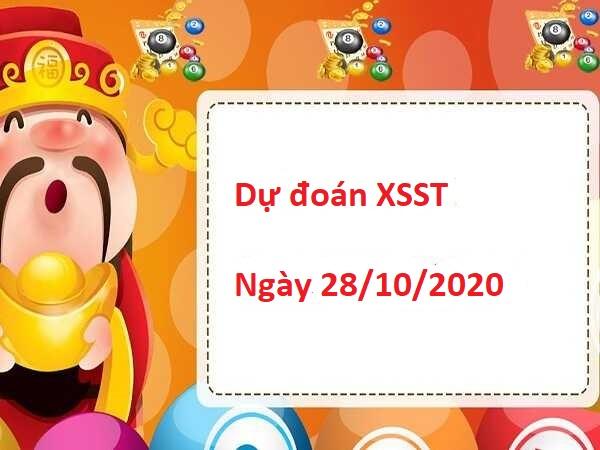 Dự đoán XSST 28/10/2020