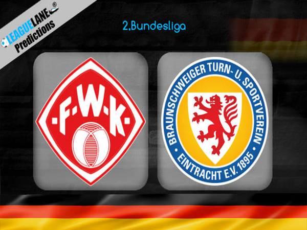 Soi kèo Wurzburger Kickers vs Braunschweig, 0h30 ngày 16/1