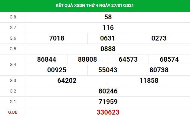 Dự đoán kết quả XS Đồng Nai Vip ngày 03/02/2021