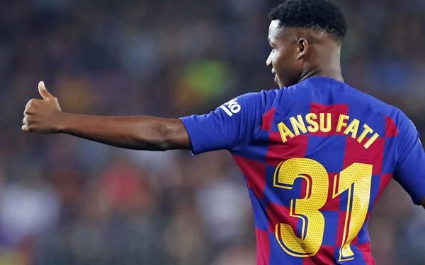 Ansu Fati - Cầu thủ trẻ xuất sắc nhất thế giới NXGN 2021