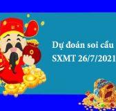 Dự đoán soi cầu SXMT 26/7/2021