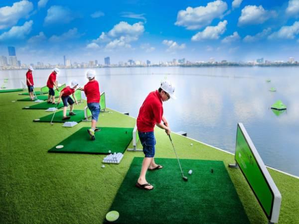 5 sân tập golf tốt nhất ở Hà Nội không thể nào bỏ qua