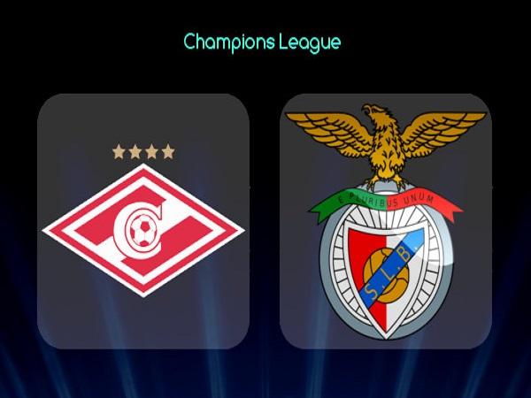 Soi kèo Spartak Moscow vs Benfica – 00h00 05/08, Cúp C1 Châu Âu